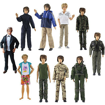 Lot 5 PCS Fashion Outfits/Clothes For 12 inch Ken Doll U01