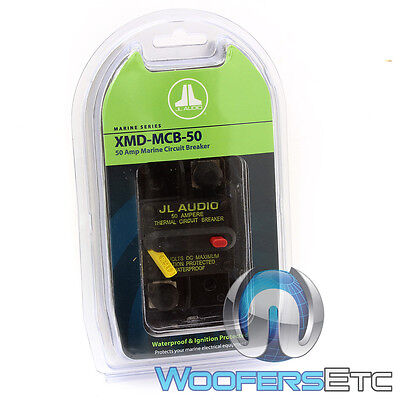 Jl Audio Xmd-Mcb-50 Amp Car Marine Boat Water-Proof Amplifier Circuit Breaker