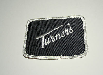Turner's PIttsburgh Dairy Co Milk Farm Uniform Patch 1960s NOS New