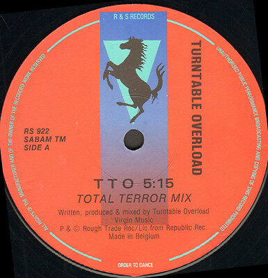 Turntable Overload - T.t.o. - R & S