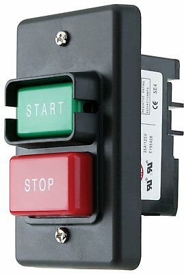 On-Off Switch Start-Stop Push Button Woodstock D4157 110/220 Single Phase Lock!