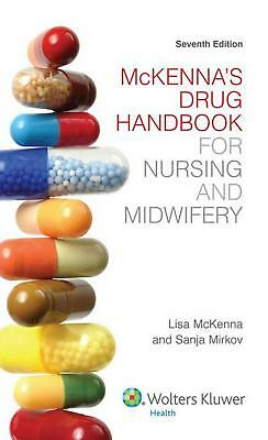 McKenna's Drug Handbook for Nursing and Midwifery by Lisa McKenna Paperback Book