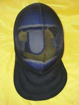 Fencing Coach Mask WMA protective face mask BLACK 350N LARGE 3 weapon HEMA WMA