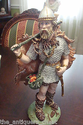 """Duncan Royale """"Odin"""" beautiful sculpture signed by Apsit[a8]"""