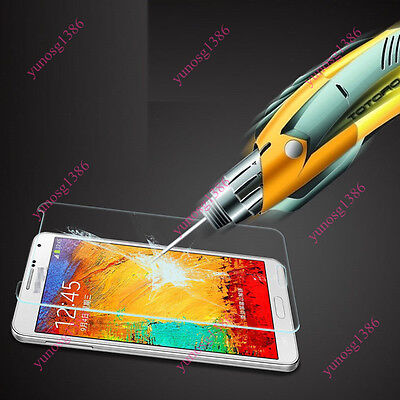9H Premium Tempered Glass Screen Protector For Samsung Galaxy S 3 4 5 Note 3 4