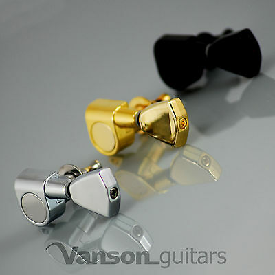 8 x NEW Vanson VN-04 Tuners, Machine heads for Les Paul, SG, Strat® Acoustic 4+4
