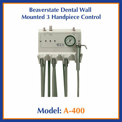 Beaverstate Wall Mount Dental Delivery Unit - 3 Handpiece Auto & Syringe A-400