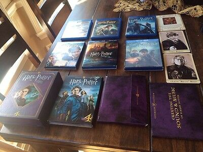 Harry Potter:Sorcerers Stone,Chamber Of Secrets,Half-Blood Prince,Deathly Hallow