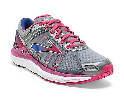 Brooks Transcend 2 Womens Running Shoes (B) (052) + Free Aus Delivery