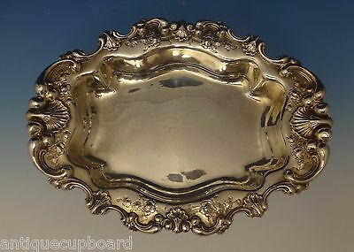 Theodore B. Starr Sterling Silver Bowl Vegetable Oval w/Seashell Border (#0685)