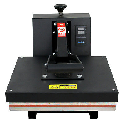 "New 15"" X 15"" CLAMSHELL HEAT PRESS T-SHIRT Digital TRANSFER SUBLIMATION MACHINE"