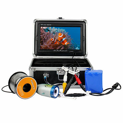 """7"""" LCD 1000TVL 30M Underwater Video Camera System Fish Finder for Exploration MD"""