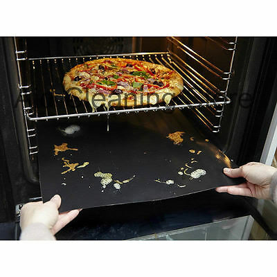 1x Durable Teflon Non Stick Oven Liners 40cm x 50cm FOR FAN ASSISTED OVENS