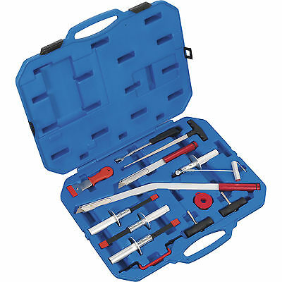 Sealey 14 Piece Professional Windscreen Removal Tool Kit