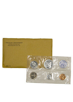1963 United States US Mint Silver Proof Set in Original Mint Packaging SKU18636