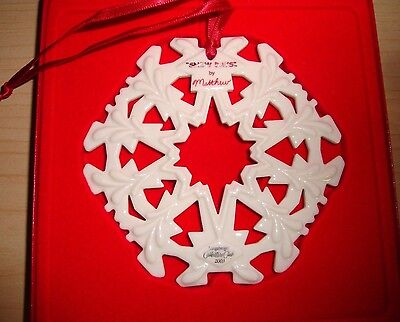 Longaberger 2003 Matthew Snow Days Collector's Club Holiday Snowflake Ornament