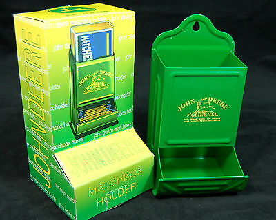 John Deere Matchbox Holder-New Logo-Licensed By JD-New-Style # 2
