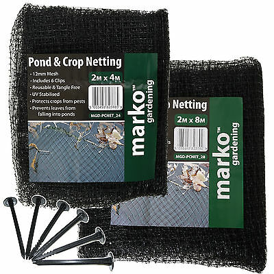 Heavy Duty Bird Crop Netting Fruit Garden Pond Protection Net Agricultural Mesh