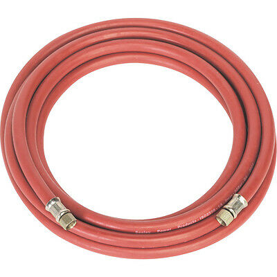 "Sealey 5m x 8mm Air Hose with 1/4"" BSP Unions"