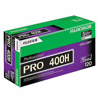 Fuji Pro 400 H 120 Roll Film (Pack of 5)