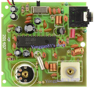 BA1404 Stereo Radio FM Transmitter Module Microphone Audio Transmitting Board