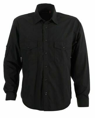 Mens Long Sleeves Business Shirt with Pocket Size S - 5XL New  | COOLUM