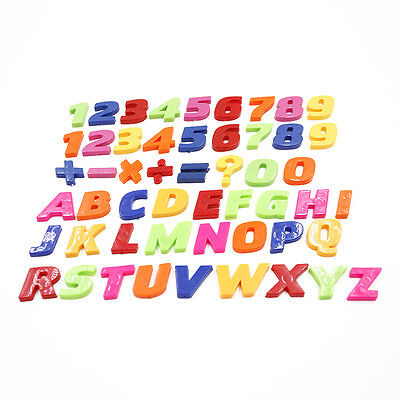 Teaching Fridge Magnets Alphabet Set Of 26 Colorful Magnetic Numbers & Letters