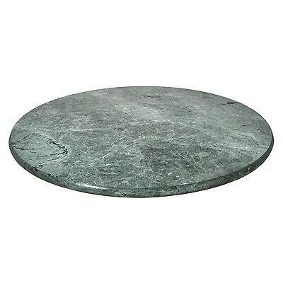Premier Housewares 30.5Diax3Cm Green Marble Lazy Susan Rotating Cake Stand New