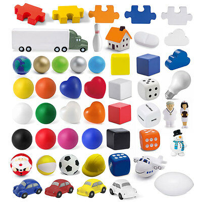 10 x Anti Stress Reliever Ball ADHD Autism Mood Squeeze Toy Hand Exercise BN