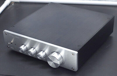 Finished Class A audio preamplifier preamp amp tone adjustable with 2X LME4972HA