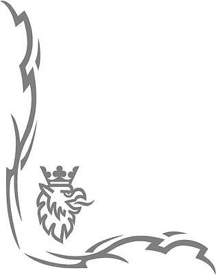 Scania griffin Truck Tribal style cab side window stickers (pair)