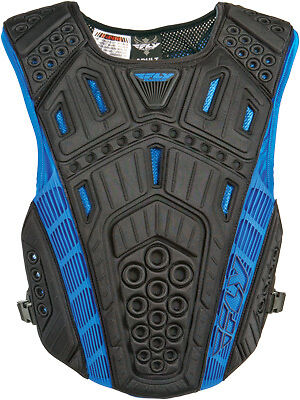 Fly Undercover II Lightweight Side Clip Offroad Motocross Chest Back Protector