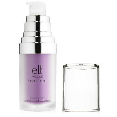(3 Pack) e.l.f. Studio Mineral Infused Face Primer - Brightening Lavender