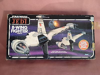 Kenner Return Of The Jedi B-Wing Complete In Box