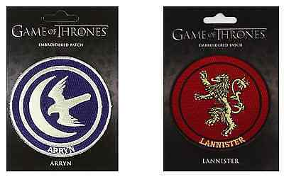 Game of Thrones Embroidered Patch : House Arryn / House Lannister - Dark Horse