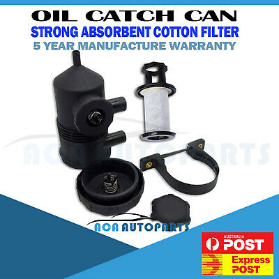 Genuine Machter 200 Oil Catch Can ProVent Turbo Patrol Landcruiser Hilux Ford 4w