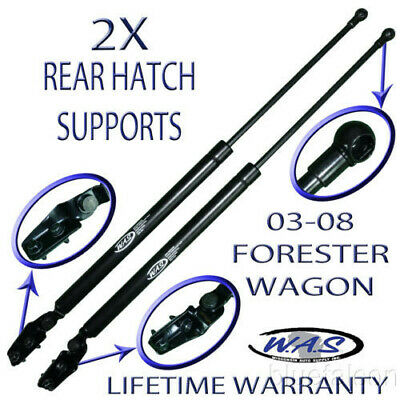 Two New Rear Hatch Liftgate Lift Supports Shock Rod For 2009-2014 VW Jetta Wagon