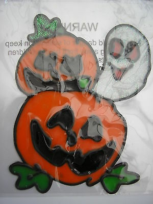 halloween pumpkin gel sticker