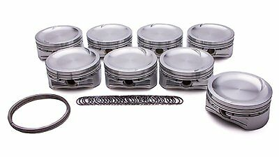 Diamond Racing 12765-8 4.600 in Bore GM Chevy Big Block Domed Forged Piston Set