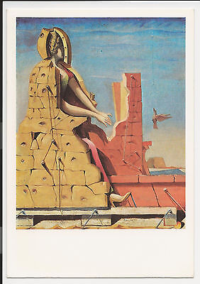 Vintage Postcard Post Card Continental Sainte Cecile by Max Ernst ac17
