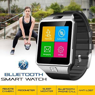 DZ09 2018 Bluetooth Camera Smart Watch For Android 8 HTC Samsung iPhone X iOS