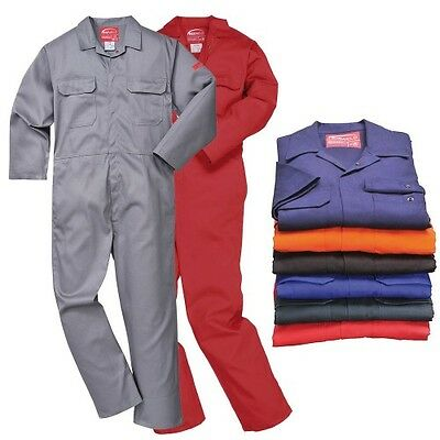 Bizweld Flame Resistant Coverall welding welder boilersuit overall size S to 3XL