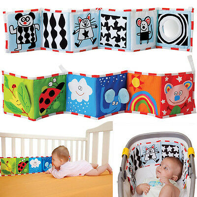 Baby Kid Child Stroller Bed Crib Room Decor Cloth Rag Beautiful Gallery Book Toy