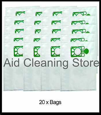 20 x Bags To Fit Numatic Henry Hetty James Filter FLO Vacuum Cleaner Hoover Bags