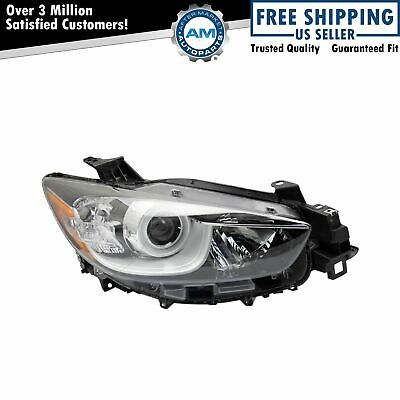 Halogen Headlight Head Lamp Assembly LH Left Driver Side for Mazda CX-5 New
