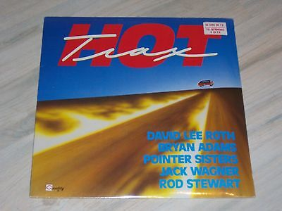V.A. - HOT TRAX / NEU, versiegelt, sealed LP !  Billy Squier, David Lee Roth ! !