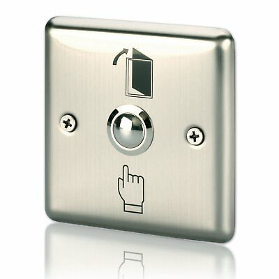 Door Touch Exit Button Push Release Switch Panel for Access Control Stainless
