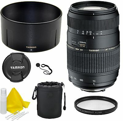 Tamron 70-300mm F/4.0-5.6 LD Di Macro Lens For Canon (EF-S Mount)- CellTime Kit