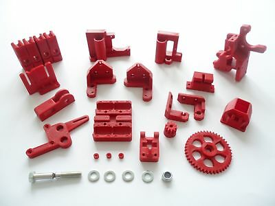RepRap Prusa I3 Rework full kit 3d printer printed ABS plastic parts Hobbed bolt