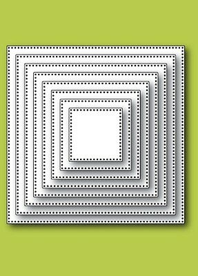 Memory Box Craft Die Pinpoint Square Layers (30060)